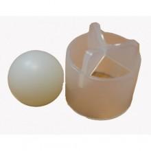 Клапан пивной(шарик+решётка, торпедо) для разливочной головки