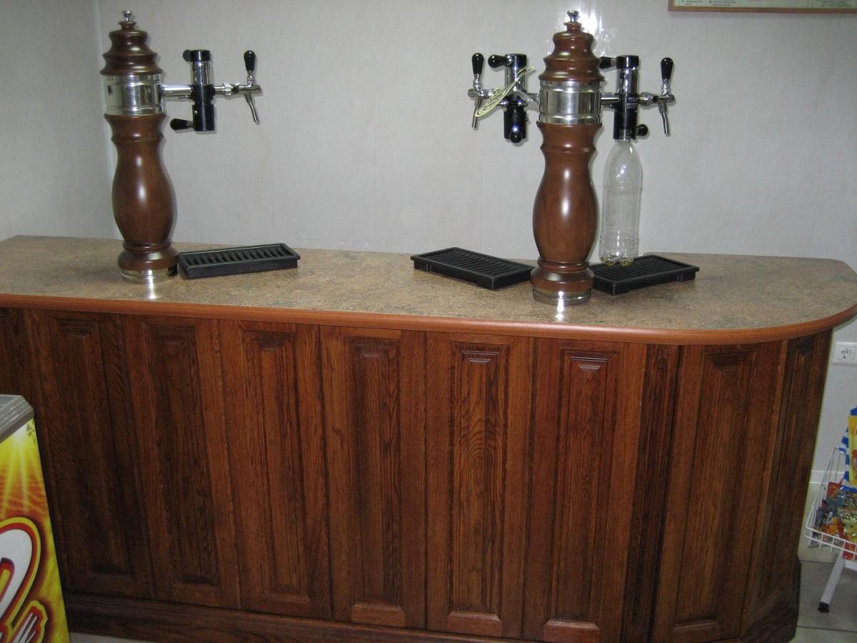 Пивные стойки для разливного пива своими руками